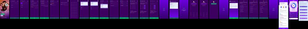 Multiple screenshots of CredAbilitys user journey.