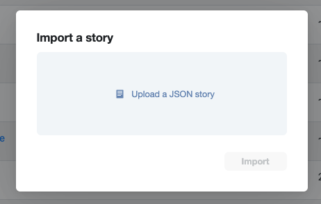 Import a story