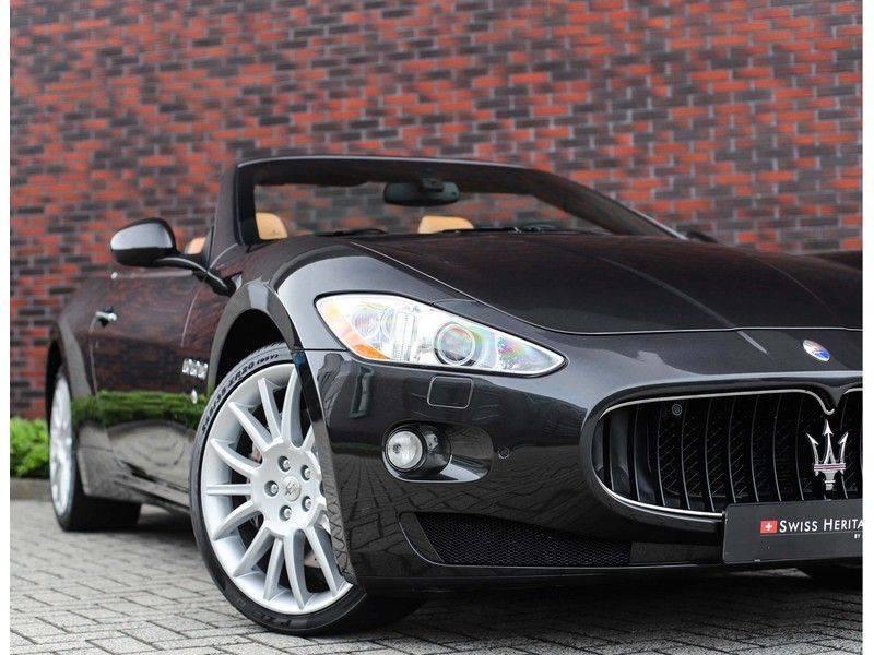 Maserati GranCabrio 4.7S *Grigio Maratta*Bose*Nieuwstaat!* afbeelding 2