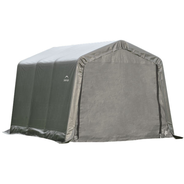 8x12x8 Round Shelter Grey Colour