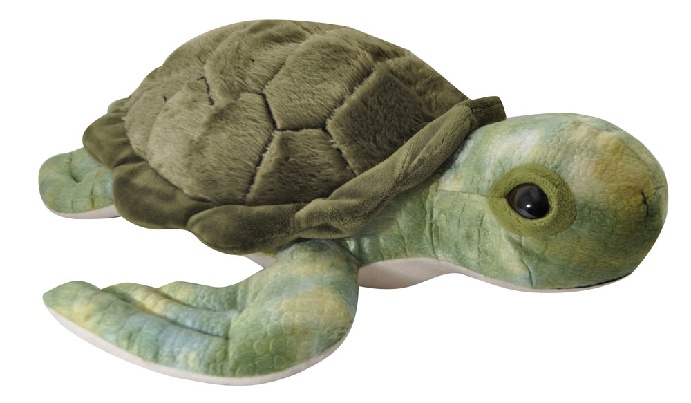"The Petting Zoo: 18"" Conservation Turtle"