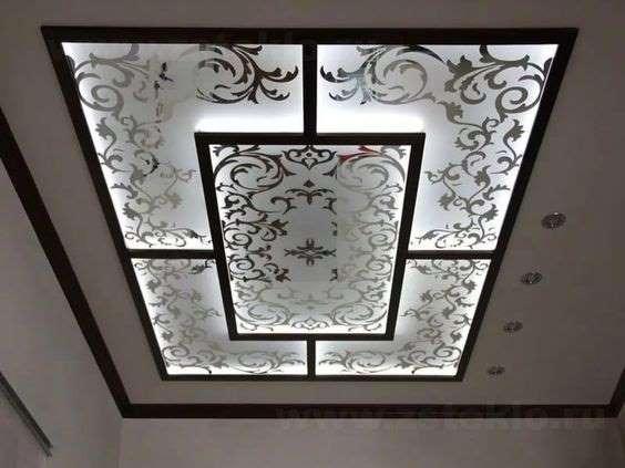 Glass False Ceilings intrior.com