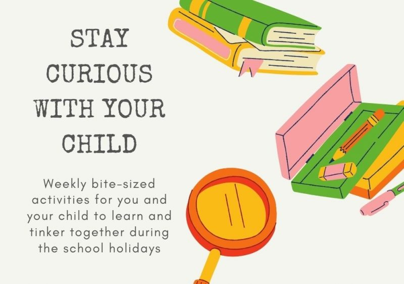 Stay curious with your child image