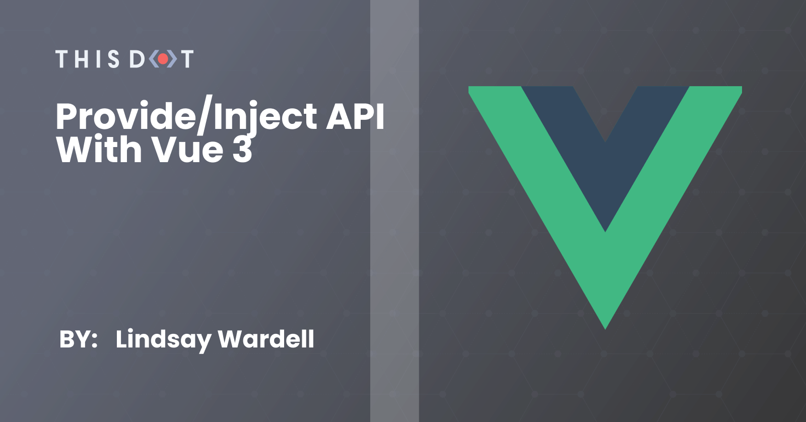 Provide/Inject API With Vue 3