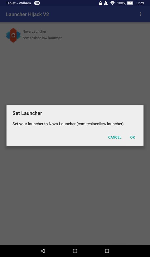 Hijack Launcher