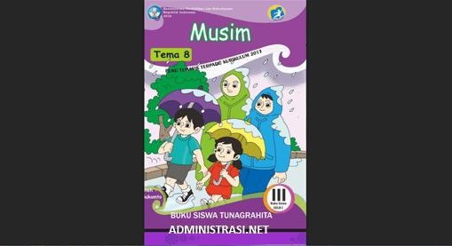 Buku Siswa Tunagrahita Kelas 3 Tema 8 Musim