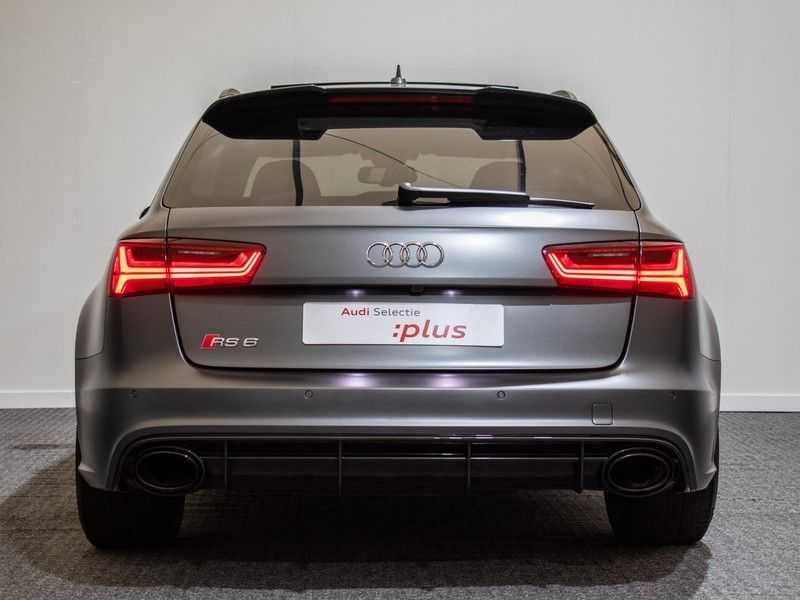 Audi A6 Avant 4.0 TFSI RS6 quattro perfomance | Dynamiekpakket plus | Carbon Optiek | B&O advanced | RS-sportuitlaat | DAB+ | Head-up display | Alcantara Hemel | Pano dak | Nachtzicht | afbeelding 5