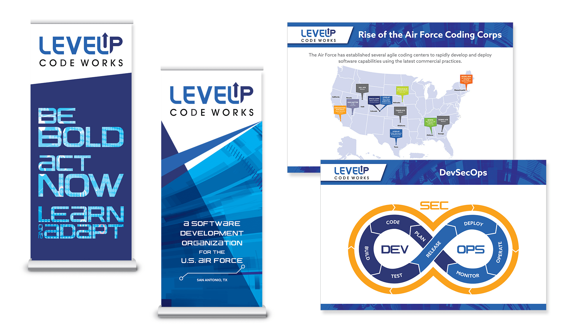 LevelUp Posters