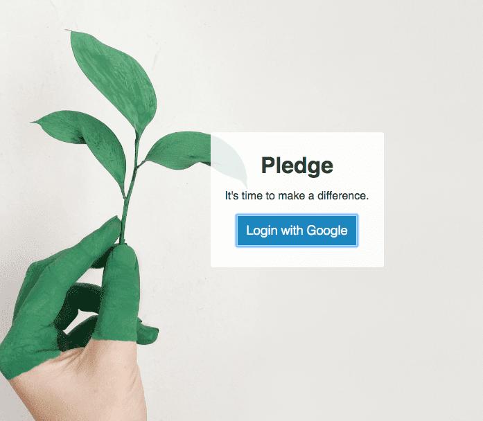 eco pledge app