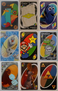 Cool Uno Wild Cards