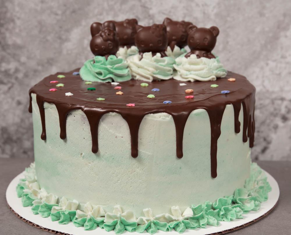 vegan grasshopper cake