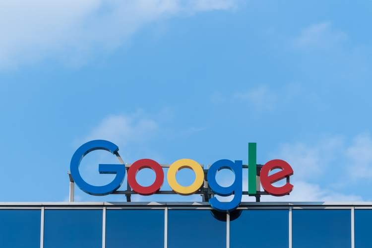 An image depicting the Google logo on top of a building in reference to Search Engine optimisation