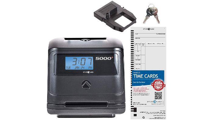 5000 Calculating Time Clock