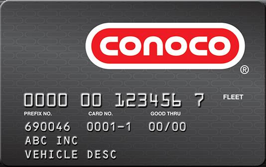 Conoco card