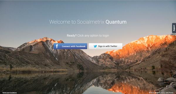 Quantum Login Screen