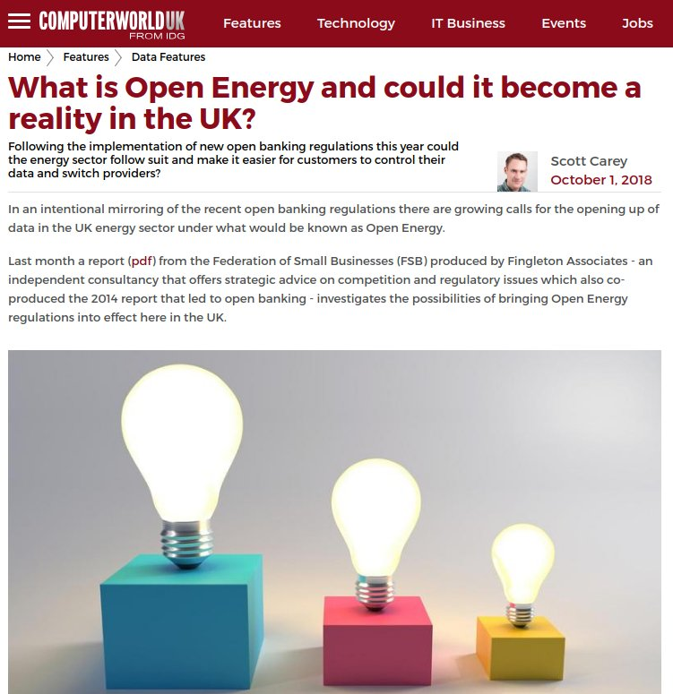Computerworld UK What Is Open Energy Article Screenshot