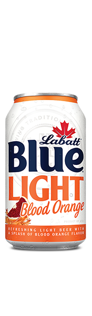Labatt Blue Light Blood Orange