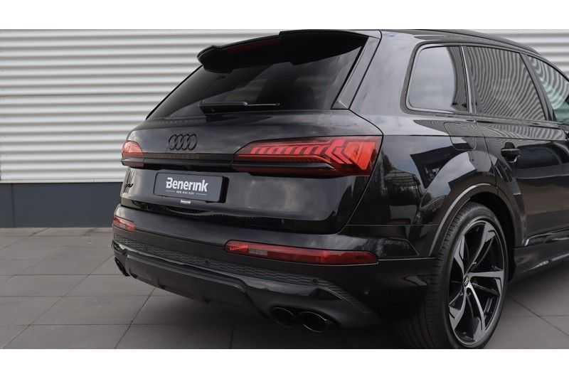 Audi SQ7 4.0 TDI 435pk quattro 7p Panoramadak, BOSE, Massage, Ruitstiksel, Trekhaak afbeelding 25