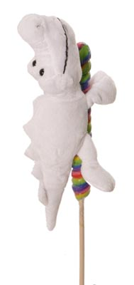 "The Petting Zoo: 11"" Lolly Plush Gator"