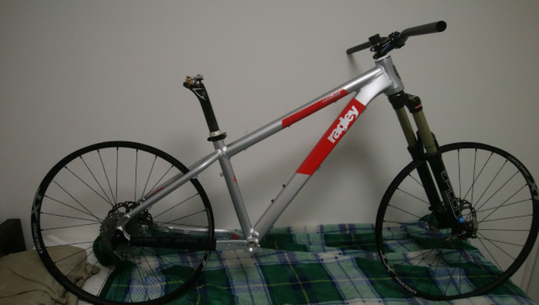 New bike : Ragley Mmmbop 27.5′