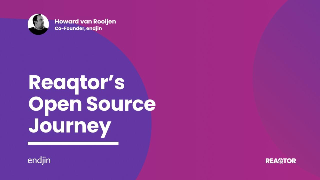 Reaqtor's Open Source Journey