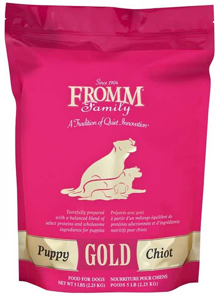 Image of a Fromm dog food kibble brand