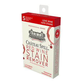 Chateau Spill Red Wine Stain Remover Towelettes