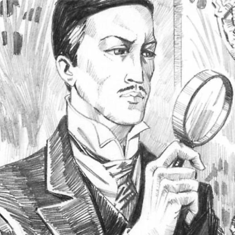 Эраст Петрович Фандорин, иллюстрацияИ. Сакурова
