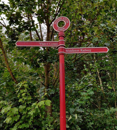 Middleton Wood Sign