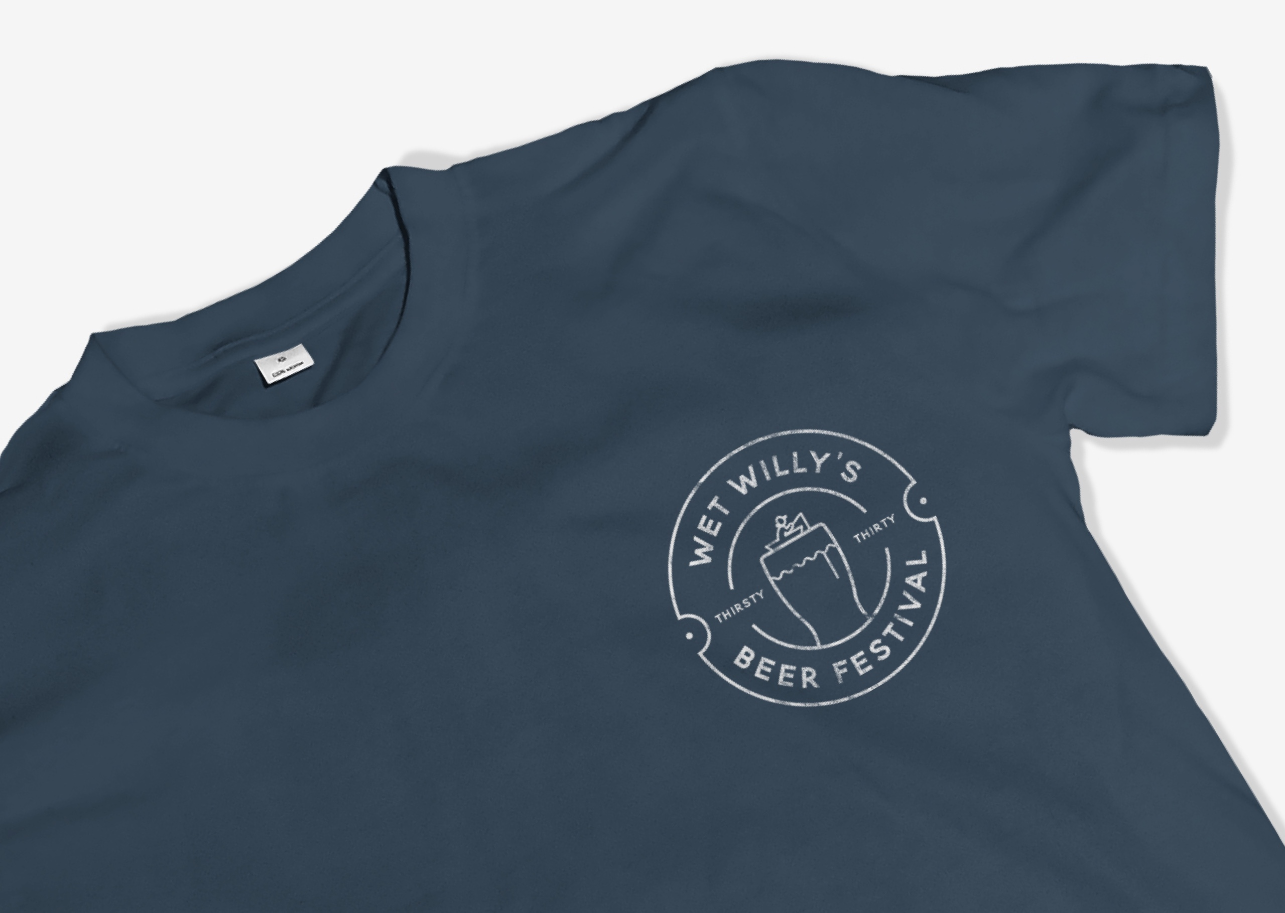 T-shirt and logo design for Wet Willy's Beer Festival
