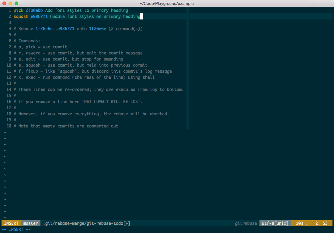 Git Commit Verbose
