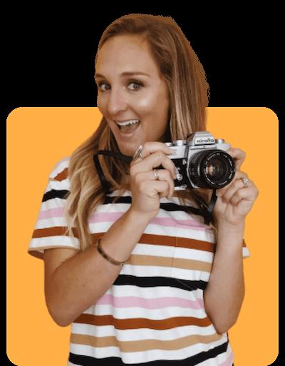 Vendor with camera