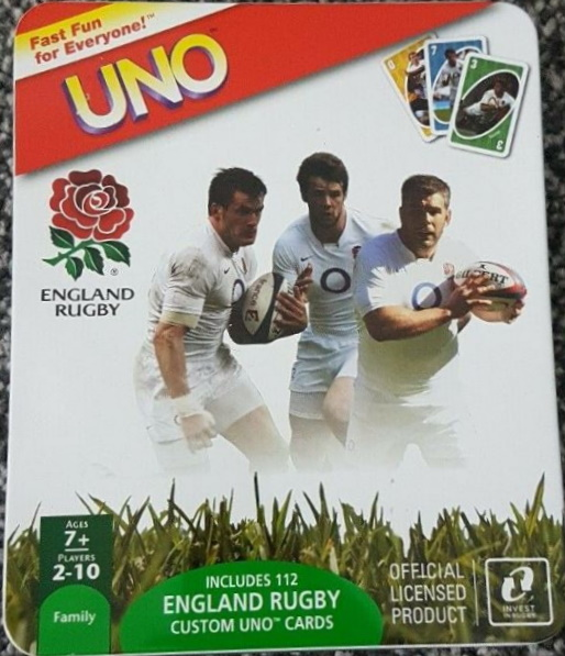 England Rugby Uno