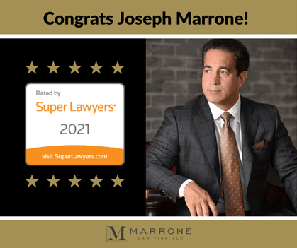 joseph marrone named to super lawyers 2021