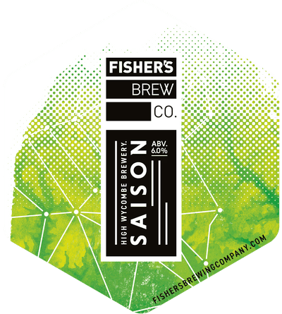 Fisher's Saison pump clip