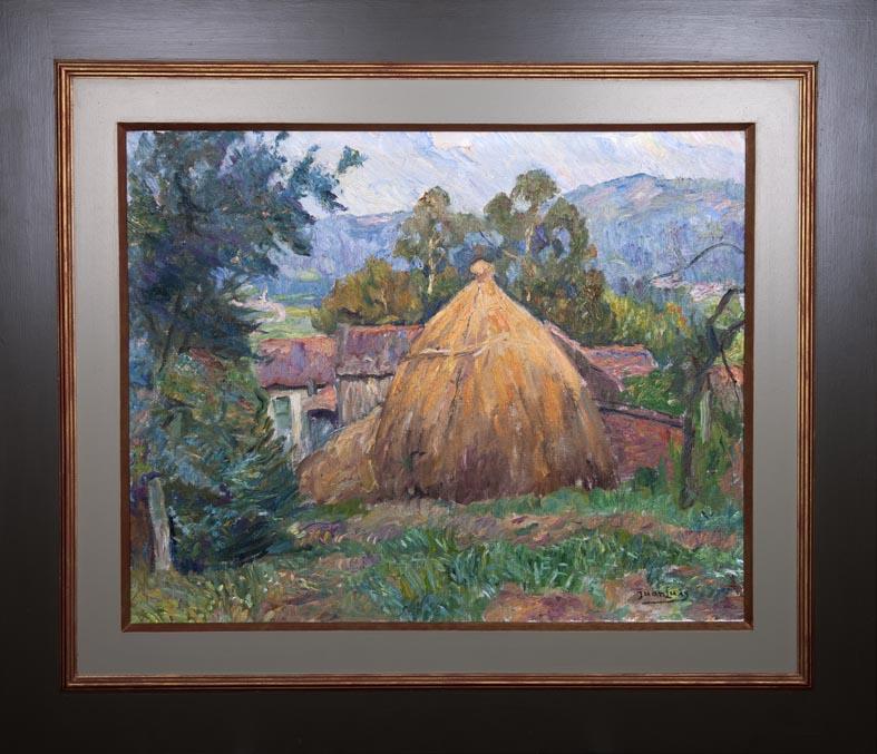 Juan Luis - oleo lienzo - 66x81 cm · óleo/lienzo