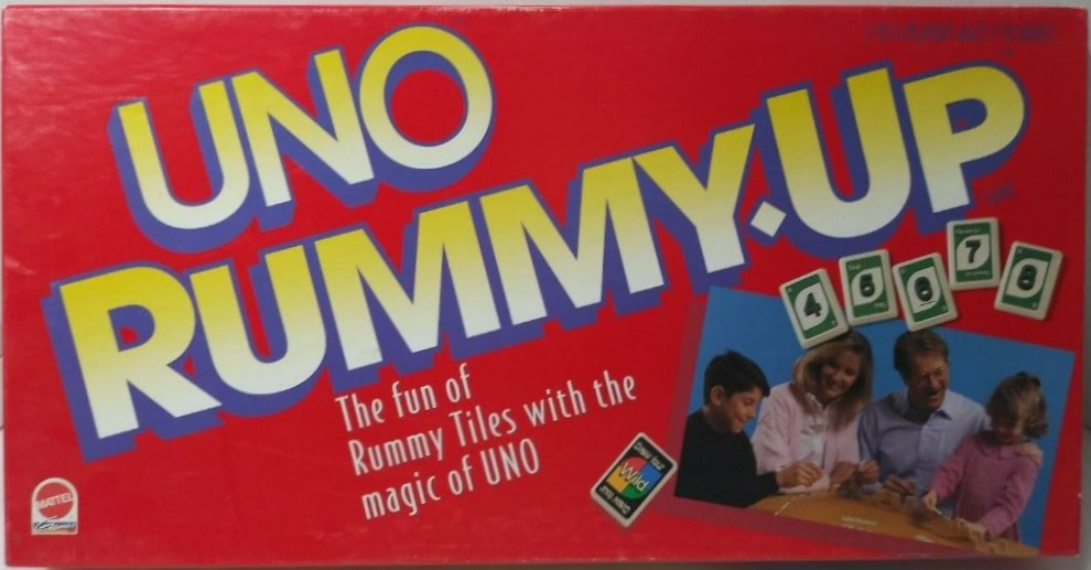 Uno Rummy Up