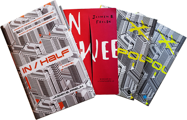 In/Half book covers