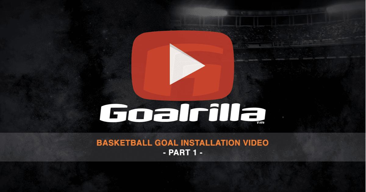 basketball goal installation video 1