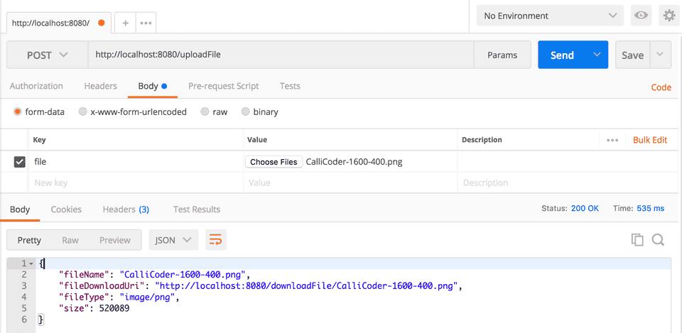 Spring Boot File Upload Rest API Example