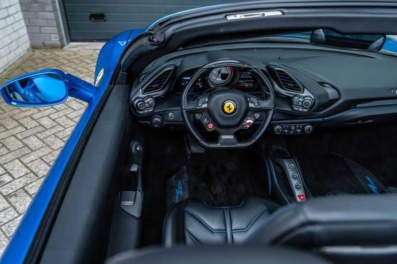 Ferrari 488 3.9 Spider HELE, 670 PK, Racing/Seats Daytona, JBL, Atelier, Blu Corsa, Liftsysteem, Scuderia Shields, 2016, 12DKM!! afbeelding 3