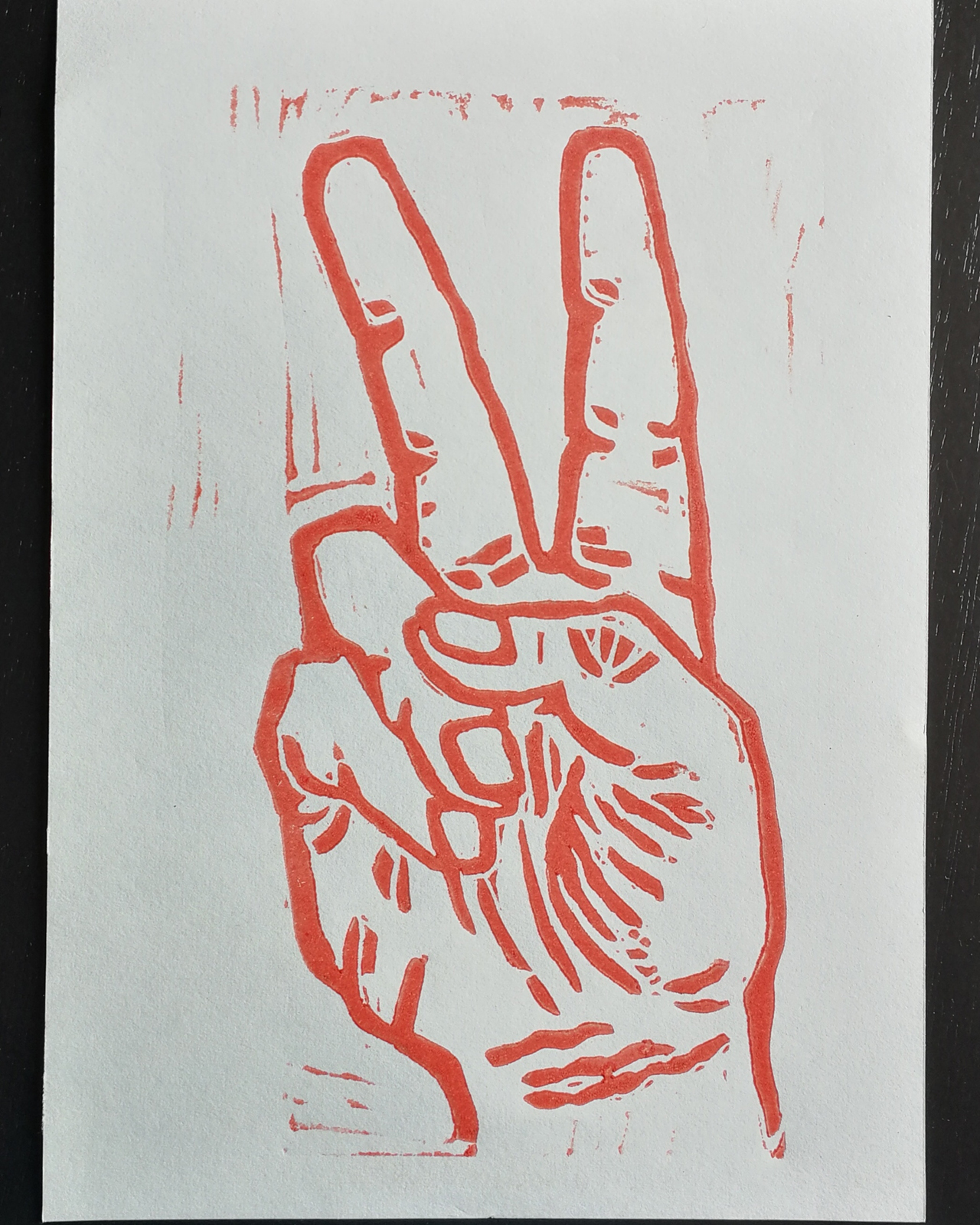 foto print peace