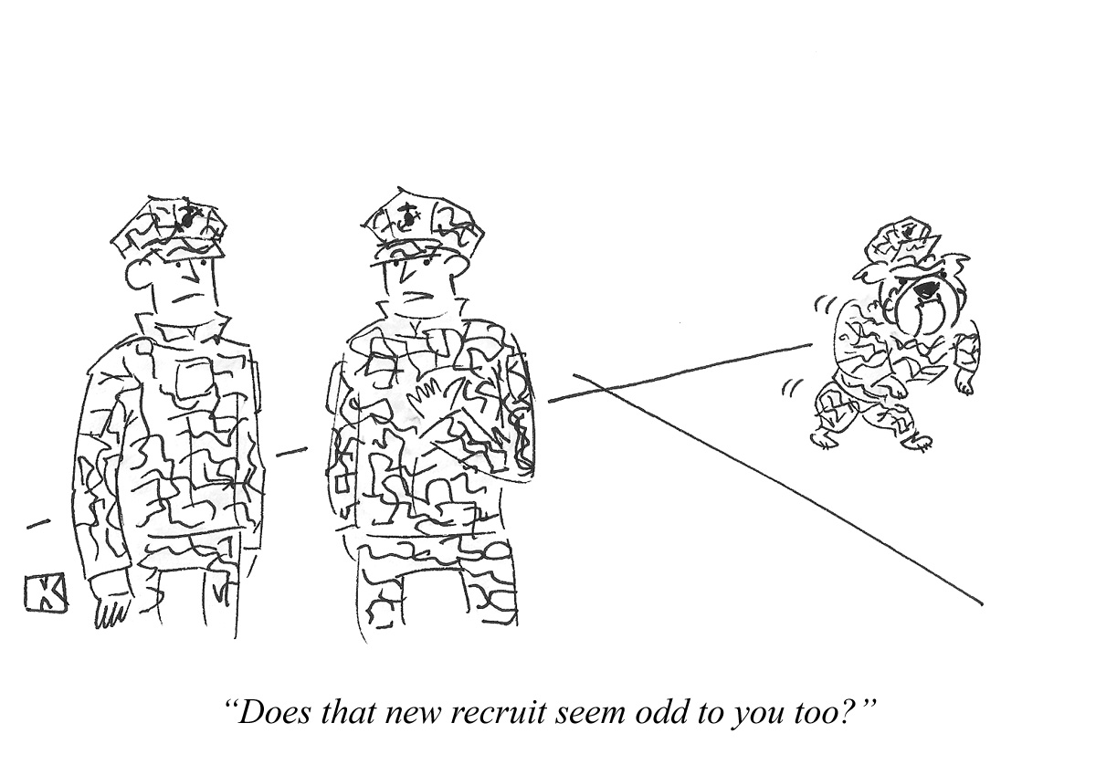Does that new recruit seem odd to you too?