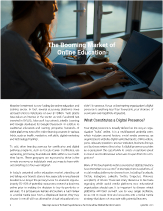 Meeting Learners' Evolved Expectations in the Competitive Online Education Sector Right