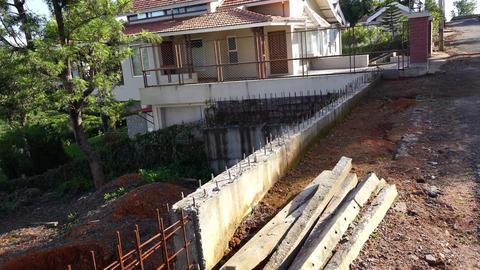 Plot 38 Serenitea - RCC wall with neighbour