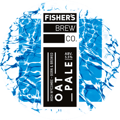 Fisher's Oat Pale keg badge