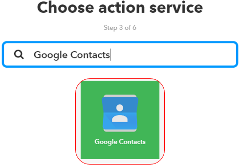 Automatically keep a record of new Google Contacts in a