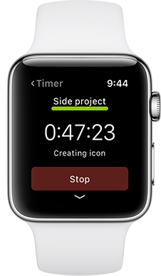 Timelines Apple Watch