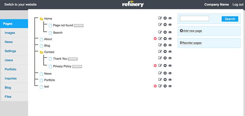 Refinery CMS