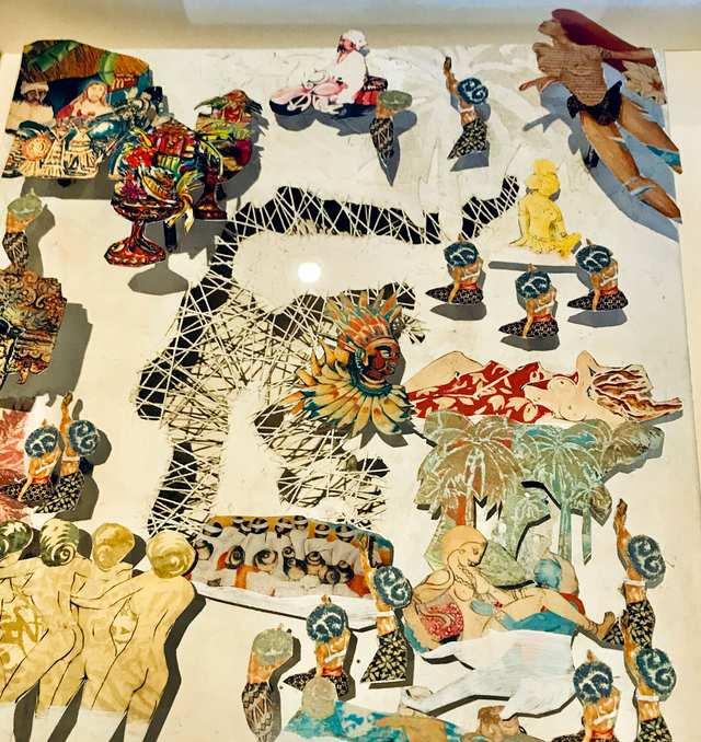I dream of Sulawesi, mixed media acrylic on canvas